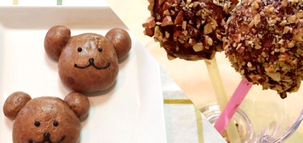 IHで簡単かわいいチョコパン作り